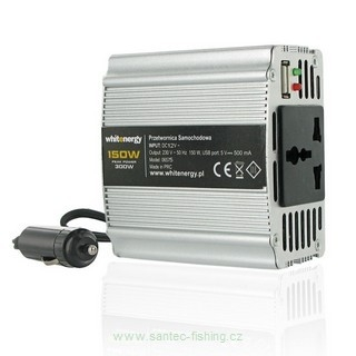 Whitenergy 24V/230V 150 W, USB, mini