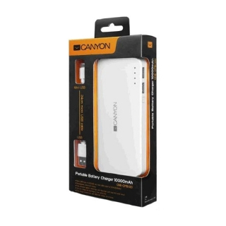 Canyon CNE-CPB100DW 10000mAh Powerbanka
