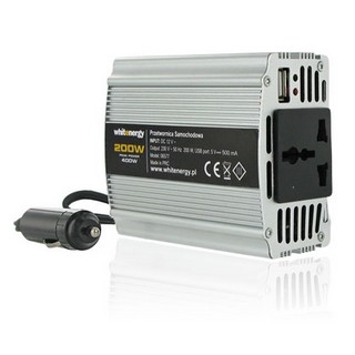 Whitenergy 12V/230V 200 W, USB